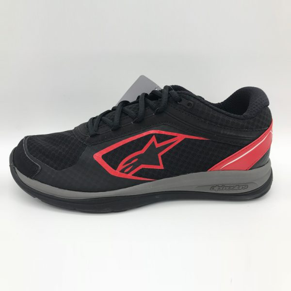 Alpinestar Alloy Shoes red side view